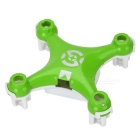 Replacement Mini Quadcopter Frame Body Shell for Cheerson CX-10 - Green and White - R/C Toys Hobbies and Toys
