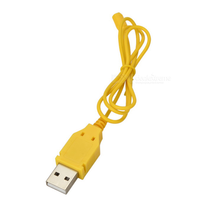 USB Charging Cable for Cheerson CX-10 R/C Mini Quadcopter - Yellow