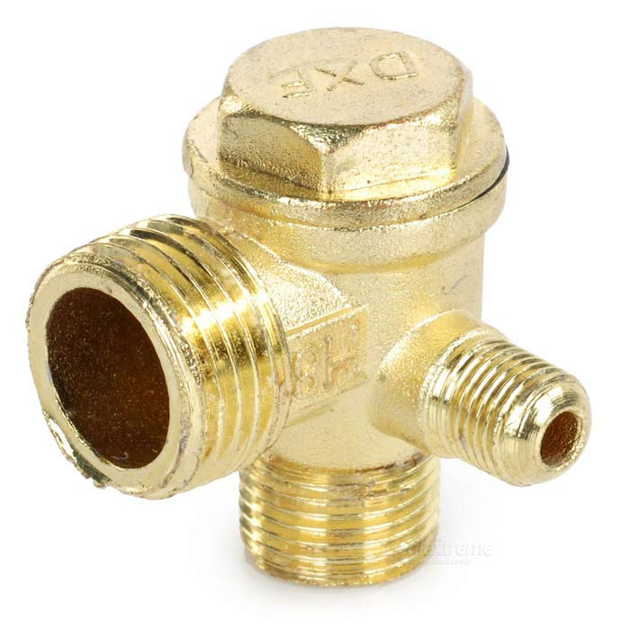 Non Return One Way Relief Check Valve For Small Sized Air