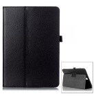 "Protective Flip Open PU Case w/ Stand for Samsung Galaxy Tab A 9.7"" / T550 - Black"