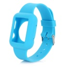 Silicone Wrist Watch Band for Apple Watch 42mm - Light Blue