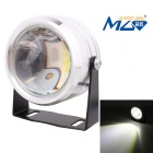 MZ 10W COB LED Eagle Eyes Car Fog Lamp Flashing White Light 6500K 500lm - Silver (12~24V)