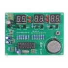 ZnDiy-BRY AT89C2051 DIY 6-Digital LED Electronic Clock Kit - Green (DC 6~12V)
