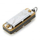 4-Hole Mini Harmonica Really Plays Pendant