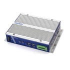 YDSTECH YCS-B251 Dual-Core 6W TDP Embedded Fanless IPC Industrial Computer - Silver + Deep Blue