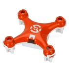 Replacement Mini Quadcopter Frame Body Shell para Cheerson CX-10-Laranja + Branco