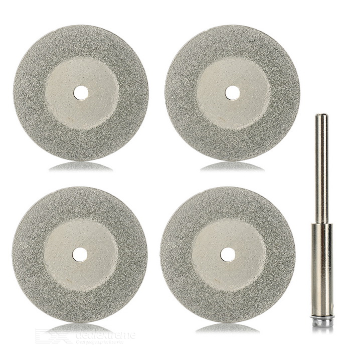 5-in-1 30mm Diamond Grinding Cutting Discs Blades Set