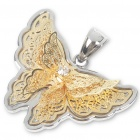 Lovely Butterfly Stainless Steel Pendant (Golden)