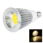 E14 7W 180lm Color Temperature Adjustable COB LED Spotlight (AC 85~2165V)
