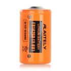AITELY 3.6V Non-chargeable ER14250 Lithium Battery - Orange + Black