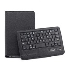 "Universal 59-Key Bluetooth V3.0 Keyboard w/ Folding PU Leather Stand Case for 7"" / 8"" Tablet - Black"
