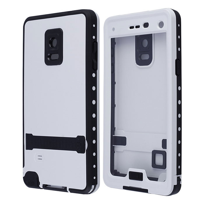 new style 87b6e e412b Redpepper Case Waterproof Case w / Stand / Speaker Protector Design for  Samsung Galaxy Note 4 - White