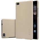 NILLKIN Back Case w/ Screen Film for HUAWEI Ascend P8 - Champagne Gold