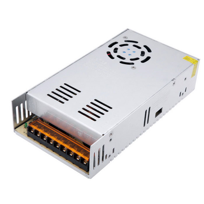 7.5A 360W Aluminum Shell Power Supply (110V / 220V)- Multi-ColorSwitching Power Supply<br>Power360WForm  ColorSilver Grey + Black + Multi-ColoredMaterialMetal aluminumQuantity1 DX.PCM.Model.AttributeModel.UnitRated Current7.5 DX.PCM.Model.AttributeModel.UnitRate Voltage48VWorking Temperature-40°C+65 DX.PCM.Model.AttributeModel.UnitWorking Humidity20% ~ 90% RH non condensingCertificationCEOther Features1. Input voltage range(V): 110 / 220V±15%<br>2. Frequency(Hz): 47~63Hz<br>3. Voltage Regulation: ±10%Packing List1 x Switching power supply<br>