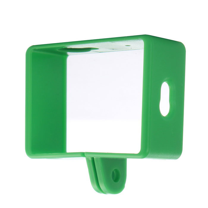 Camera Protective Plastic Side Frame Case for Xiaomi Xiaoyi - Green