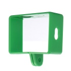 Professional Camera Protective Plastic Side Frame Case for Xiaomi Xiaoyi Camera - Green