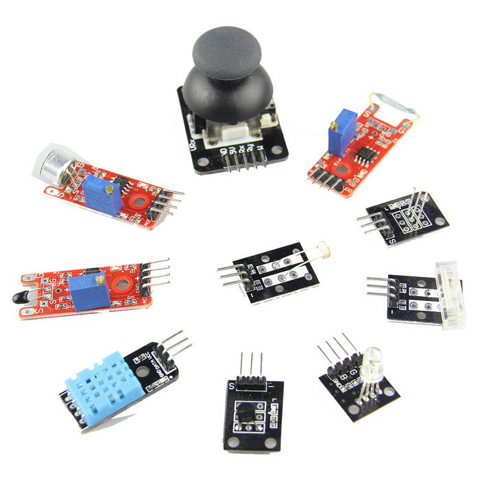 In sensor module kit for arduino beginner free