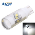 MZ T10 30W 6-XQ-B Car LED Clearance Light White Light 6500K 1500lm (12~24V)