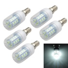 Marsing E14 5W LED Corn Bulbs Bluish White Light 500lm (5PCS)