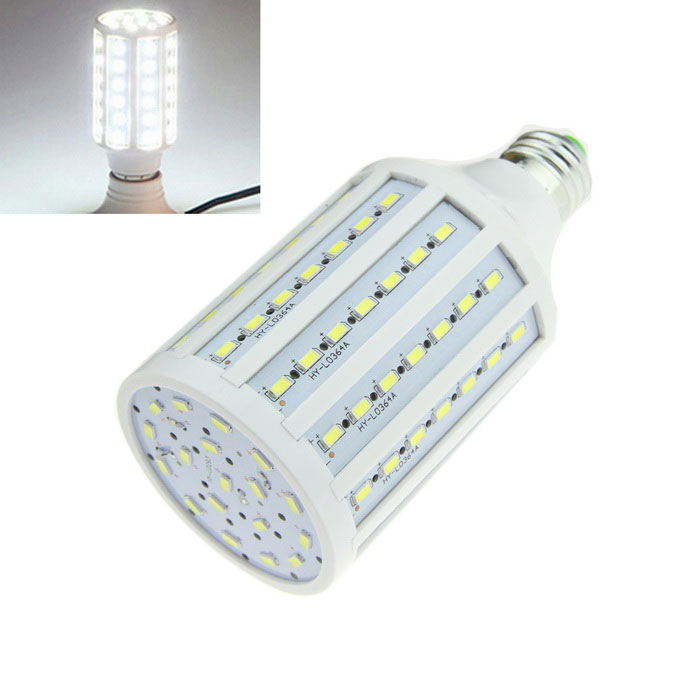 E27 15W LED Corn Lamp Bulb Cool White 1600lm 102-SMD 5630 (AC 220V)