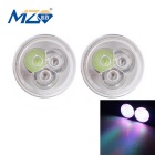 MZ 9W 3-LED Car Daytime Running / Fog / Backup Lamp RGB Flashing Light 540lm (12V)