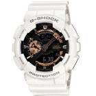 Genuine Casio G-Shock GA-110RG-7ADR Watch 200-meter Water Resistance - White