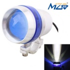 MZ 10W XM-L Motorcycle Headlamp White Light 1900lm 6500K 3-Mode w/ Flashing Light - Blue (12~24V)