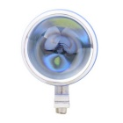 MZ 10W XM-L Motorcycle Headlamp White 3-Mode w/ Flashing Light - Blue