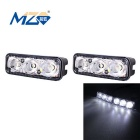 MZ 9W 3-LED 540lm 6500K Car Daytime Running Light / Fog Lamp (12~24V)
