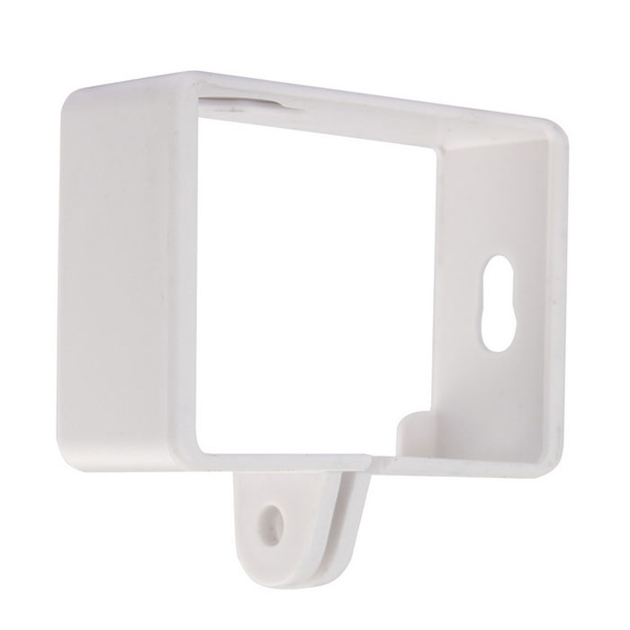 Camera Protective PC Side Frame Case for XiaoMi XiaoYi - White