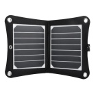 VINA 7W Sunpower Chip High Efficiency Foldable Solar Powered Panel Charger - Black