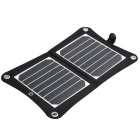 VINA 7W Sunpower Chip Plegable Solar Panel Cargador - Negro