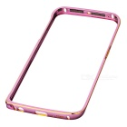 Protective Aluminum Alloy Bumper Frame for Samsung Galaxy S6 Edge - Pink