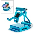 7170mAh Mobile Power Bank w/ Bracket Holder for IPHONE 5 / 5C / 5S - Blue