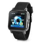 "B15 GSM Watch Phone w/ 1.54"" HD, Bluetooth, Quad-Band - Black"