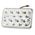 Motorcycle DIY 8-LED 19W 800lm 10105K Cool White Foglight / Signal Light (12~24V)