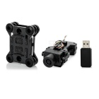 JJRC C2001-5 HD 5.0MP Camera + Shock-Absorber Set w/ 8GB Card for H5, H5C, X5, X5C & More - Black