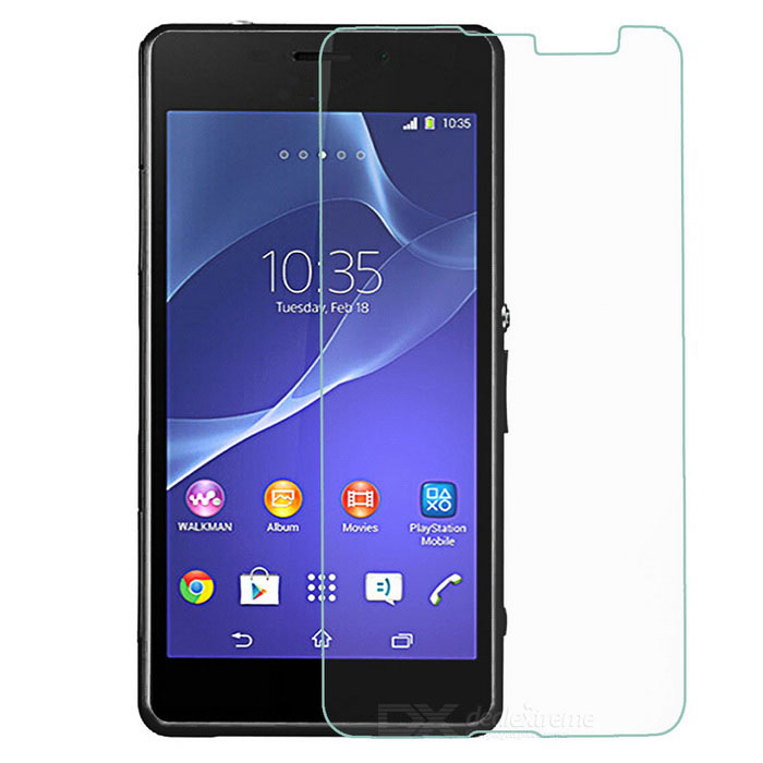 Anti-Scratch PET Screen Protector for Sony SE Xperia E4G - Transparent