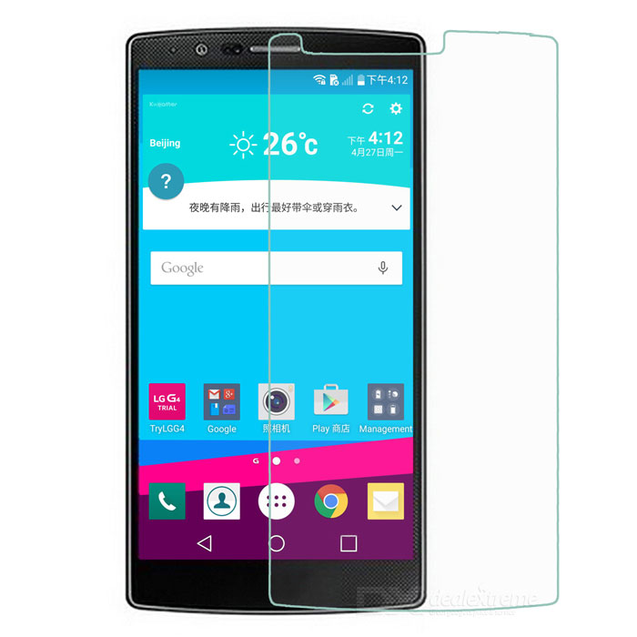 Anti-Scratch Clear PET Screen Protector Film Guard for LG G4 - Transparent