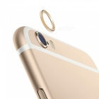 Bumper Frame Case + Lens Guard Ring Sticker for IPHONE 6 PLUS - Golden