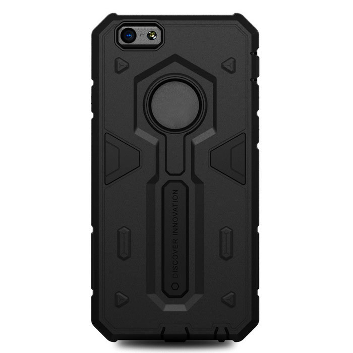 NILLKIN Stronger Series TPU + PC Back Case Armor for IPHONE 6 - Black