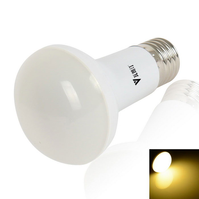 walangting R63 E27 7W 400LM warm wit lamp lamp 18-SMD LED (110 ~ 240V)
