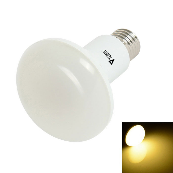 WaLangTing R80 11W E27 0 ~ 650lm Dimmable 3200K LED-Birnen-Lampen-warmes Weiß (AC 110-130V)
