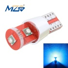 MZ T10 15W XP-E 3-LED Car License Plate / Clearance Lamp Ice Blue 465nm 1350lm Decoded (12~18V)