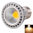 WaLangTing E27 4W COB LED Spotlight Warm White Light 3200K 250lm - Grey + Silver (AC 110~240V)