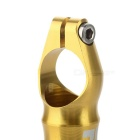 AEST YBE88A CNC Aluminum Bicycle Handle Bar Ends - Golden