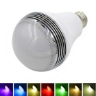 E27 5W Bluetooth V4.0 Smart Music Colored Light LED Bulb for iOS / Android  (AC 85~264V)