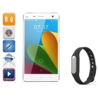 "Xiaomi Mi 4+Bracelet  Android 4.4.3 Quad-core 3G Phone w/ 5.0"" FHD,3GB RAM,13MP+8MP - White + black"