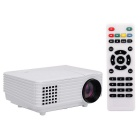 RD805 40W HD 1080P Mini Home High Definition LED Projector w/ HDMI / AV / VGA/ USB / Remote Control