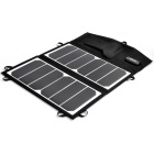 PORTABLE 13W SunPower High Efficiency 23.5% Foldable Solar Powered Panel Charger - Black